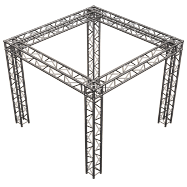 Monster truss truss packages convention booth truss for Truss package cost